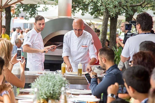 Taste of Rome - Franco Pepe - Opera wood fired oven - Alfa Forni
