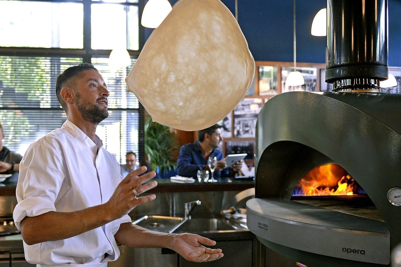 Forni professionali per pizza a legna e a gas alfa forni professional - Forni per pizza casalinghi ...